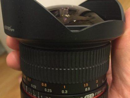 Kauftipps: Walimex Pro 12mm f/2,8 Fish-Eye